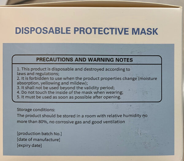 surgical face mask information