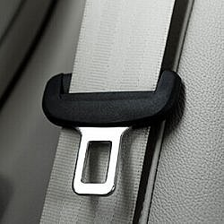 seatbelt made of gray pultrusion fabric