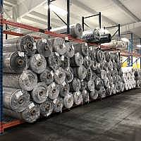 Rolls of Geotextiles